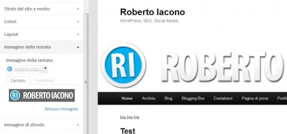 personalizza wordpress