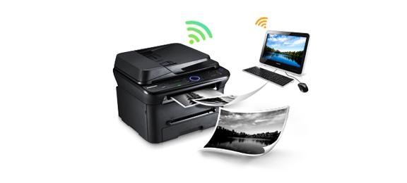 stampante laser multifunzione wireless