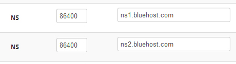 ns bluehost