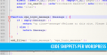 25+ WordPress Code Snippets interessanti