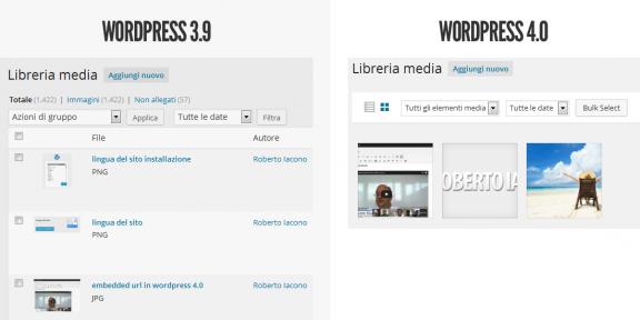 media wordpress 4